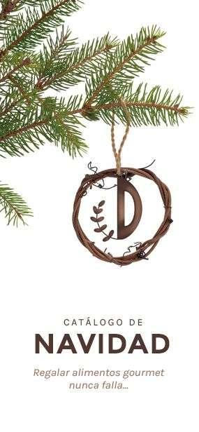 Catálogo de navidad, regalar alimentos gourmet, nunca falla...