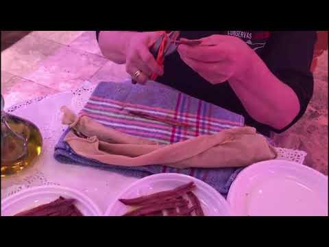 Elaboracion de anchoas de Santoña Catalina | Cómo finaliza el proceso de elaboración de la anchoa