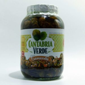 Caracoles Cantabria Verde
