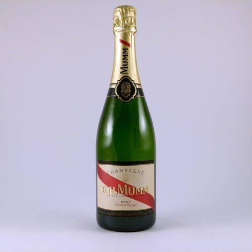Botella de Champagne Mumm Brut Cordon Rouge 75 cl