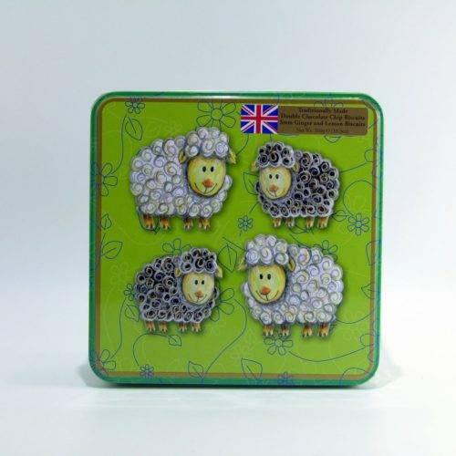Lata de Galletas Inglesas Artesanas Grandma Wilds ovejitas 300 grs