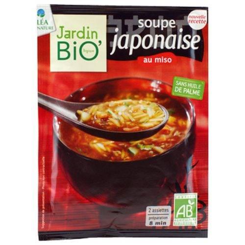 Sopa Japonesa con miso Jardin Bio - Diferente
