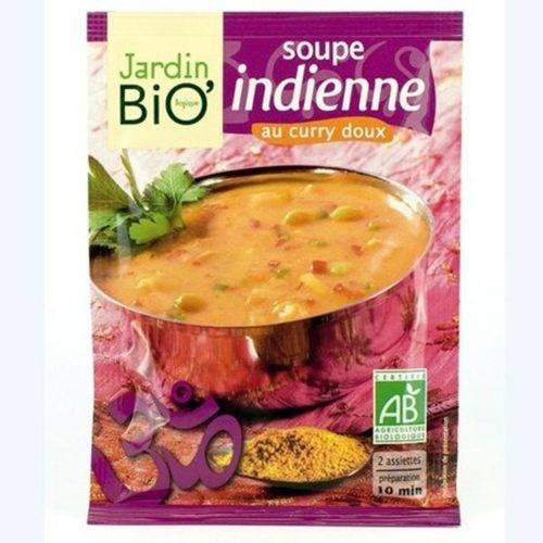 Sopa India con Curry - Jardin Bio