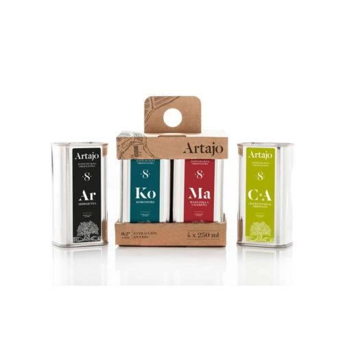 Artajo 8 pack de 4 variedades lata de 250 ml