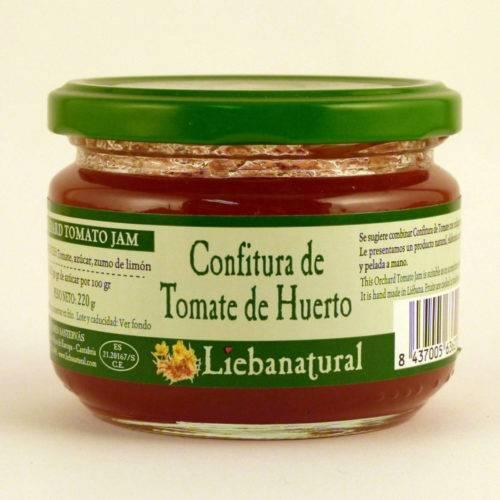 Confitura de Tomate de Huerto Liebanatural - Diferente