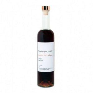 Licor de orujo de Café Justina de Liébana - Diferente