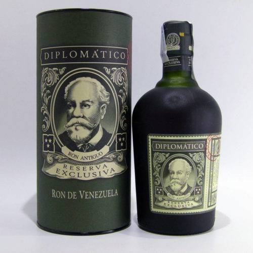 Ron Diplomático Reserva Exclusiva botella estuchada