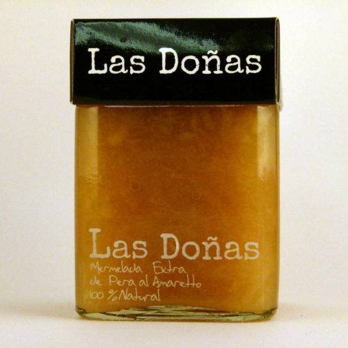 Mermelada Artesana de Pera al Amaretto Las Doñas