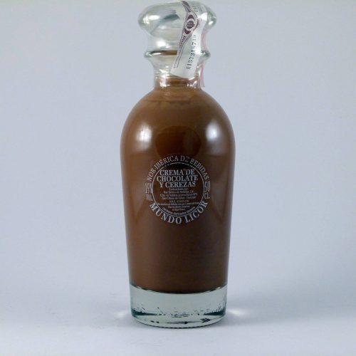 Crema de Chocolate con Cerezas - Diferente