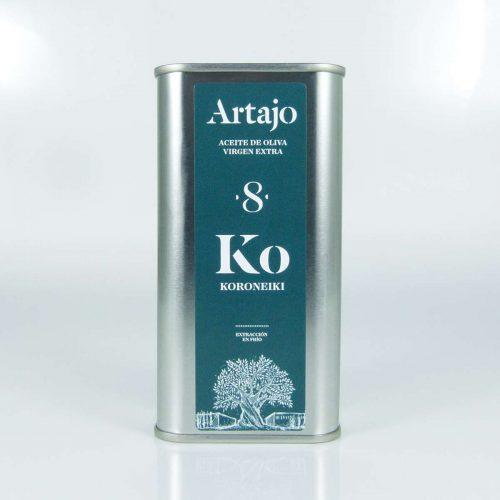 Aceite Artajo 8 koroneiki lata de 250 ml