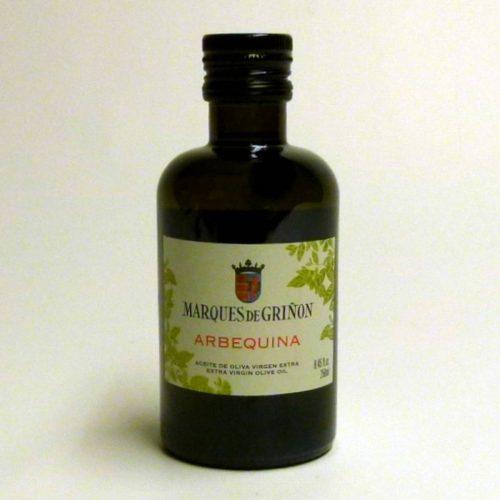 Aceite Marqués de Griñón arbequina 250 ml oliva virgen extra