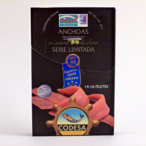 Anchoas Codesa Serie Limitada Lata de 14-16 filetes en aceite de oliva