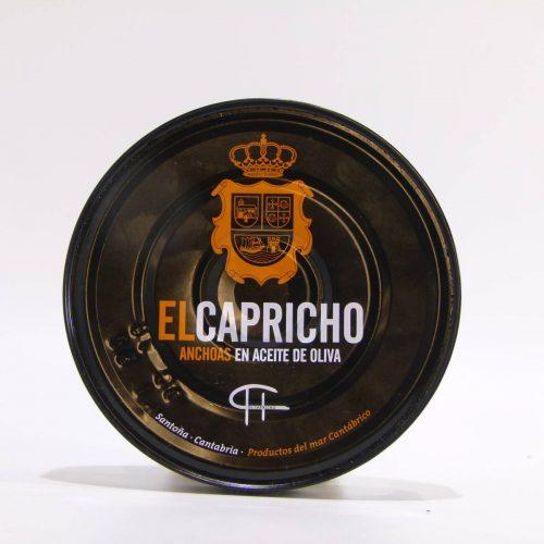 Anchoas de Santoña el Capricho lata de 115 gramos en aceite de oliva