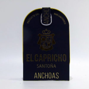 Anchoas El Capricho lata de 14-16 filetes  en aceite de oliva