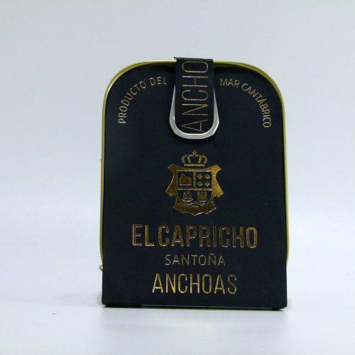 Anchoas El Capricho lata de 95 gramos en aceite de oliva