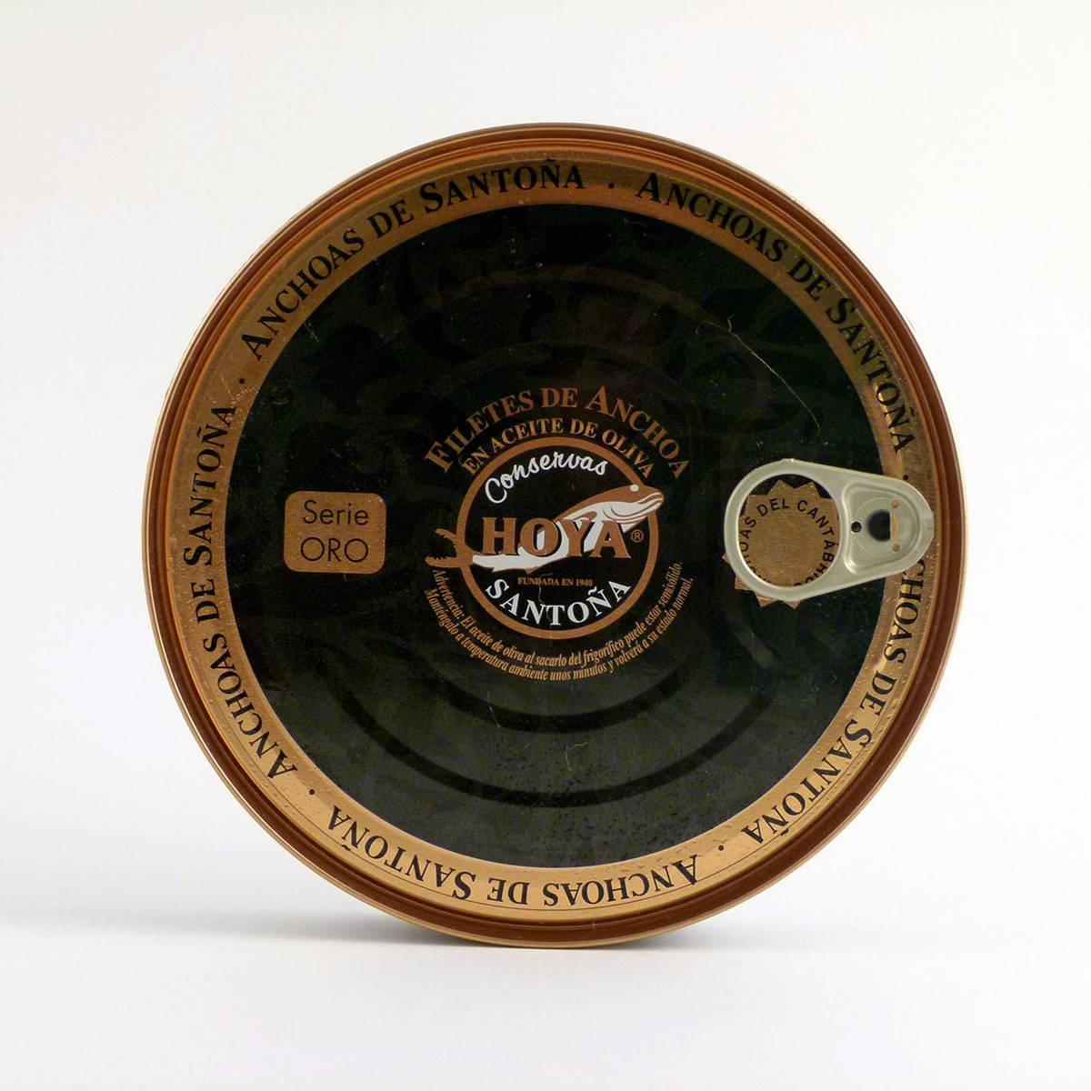 Anchoas Hoya Selección Oro lata de 170 gramos en aceite de oliva
