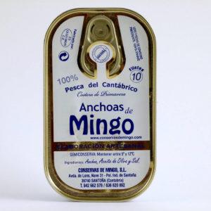 Comprar anchoas de Santoña Mingo online