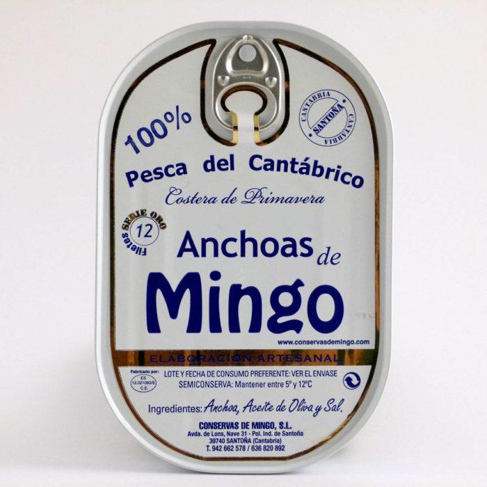 Anchoas mingo serie Oro lata hansa 12 filetes online