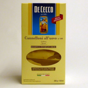 Cannelloni De Cecco n 100 - Diferente