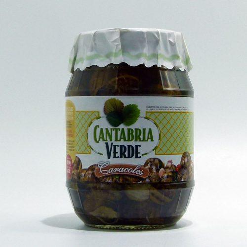 Caracoles Cantabria verde | Compra caracoles cocidos en conserva