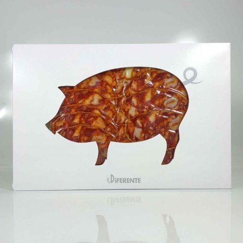Chorizo Ibérico de bellota de Salamanca sobre de 100 grs