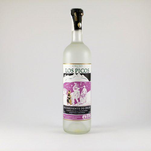 Botella de Orujo de Liébana Los Picos 70 cl