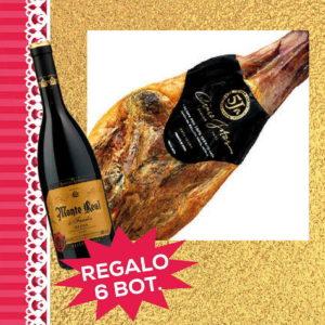 Jamón ibérico de bellota de Jabugo 5 J Sanchez Romero Carvajal