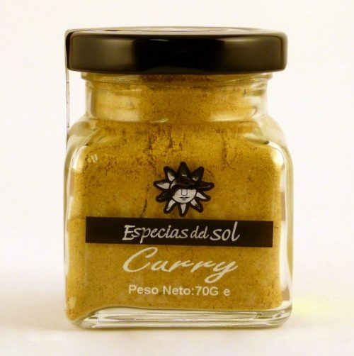 Curry Especias del Sol 70 gr - Diferente