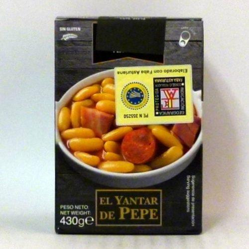 Fabada Asturiana El Yantar de Pepe - Diferente