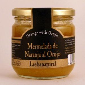 Mermelada de Naranja al Orujo Liebanatural - Diferente Gourmet
