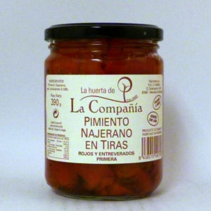 Pimiento Najerano La Huerta de la Compañia - Diferente