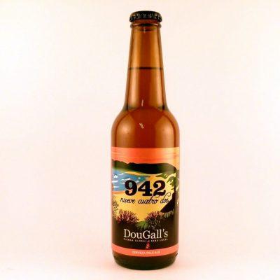 Cerveza Artesana de Cantabria Dougalls 942