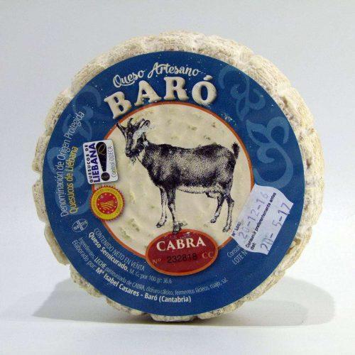 Queso artesano de Cantabria de Cabra Baró