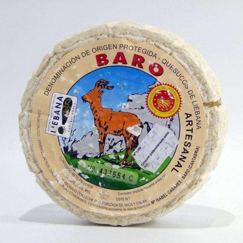 Queso de Cantabria de Vaca y Cabra Baró