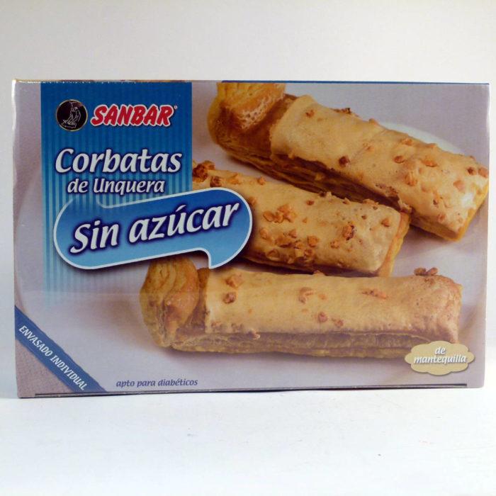 Corbatas de Unquera sin azúcar Sanbar