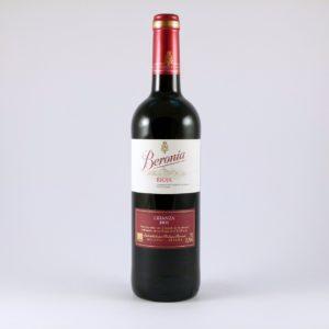 Vino Tinto Crianza Beronia D.O. Rioja