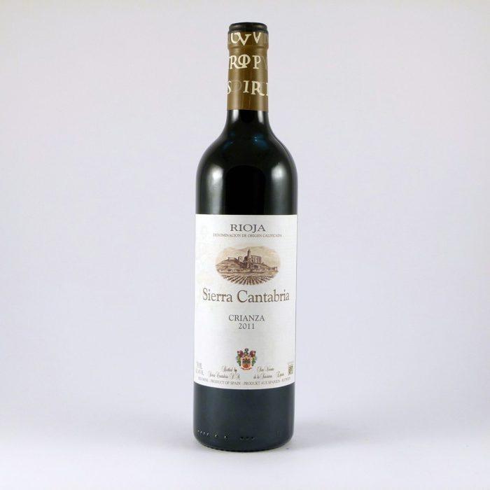 Vino Tinto Crianza Sierra Cantabria D.O. Rioja