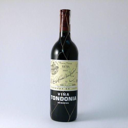 Vino Tinto Reserva Viña Tondonia D.O.Rioja