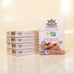 Anchoas del Cantábrico Codesa Pack ahorro 5 octavillos sal rosa