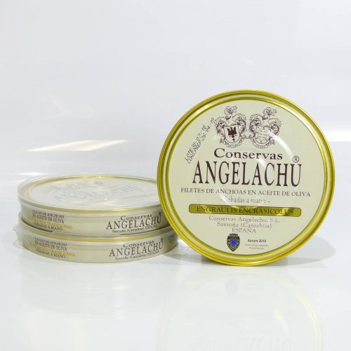 Anchoas Angelachu pack ahorro de 3 latas de 180 gramos
