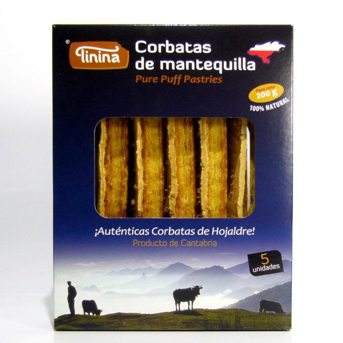 Sobaos el Macho Corbatas de mantequillas Tinina
