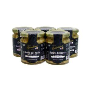 5 tarros de bonito del norte catalina