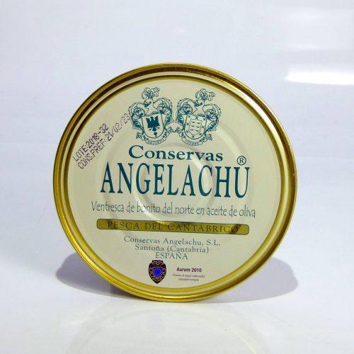 Ventresca de bonito del norte en aceite de oliva Angelachu 180 gramos