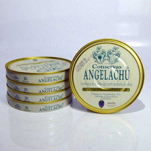 Pack ahorro de 5 latas de ventresca de bonito Angelachu