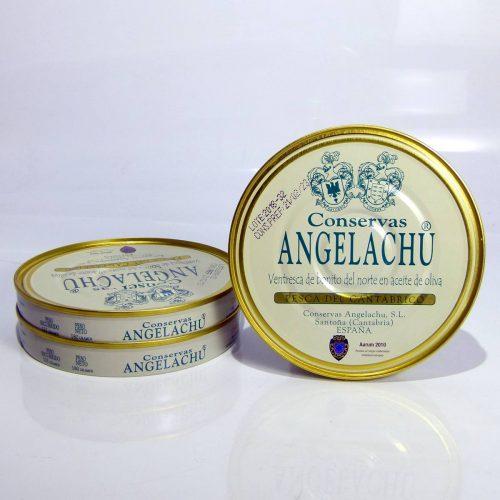 Pack ahorro de 3 latas de ventresca de bonito de anchoas Angelachu