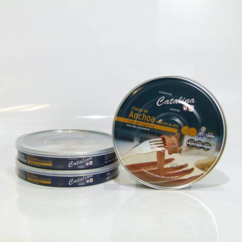 Compra 3 panderetas de anchoas Catalina online gourmet