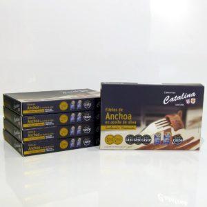 Comprar 5 latas de anchoas Catalina selección premium online