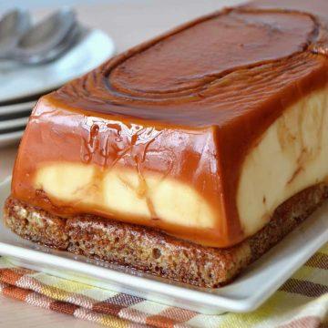 tarta de queso con sobaos pasiegos
