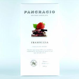 Comprar Chocolate Pancracio 64% cacao con frambuesa gourmet online