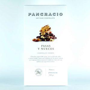 Comprar Chocolate Pancracio 64% cacao con pasas y nueces online gourmet